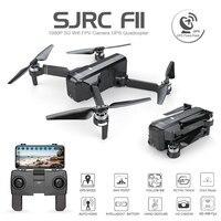 SJRC F11 Дрон с GPS с Wi Fi FPV 1080 P камера бесщеточный Квадрокоптер 25 минут время полета управление жестами складной Дрон Vs CG033
