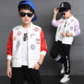 Boys Jackets Letter Baseball Coats For Boys Clothing Children Outerwear Spring Autumn jacket 2017 Teenage Boys Tops 3-14Y