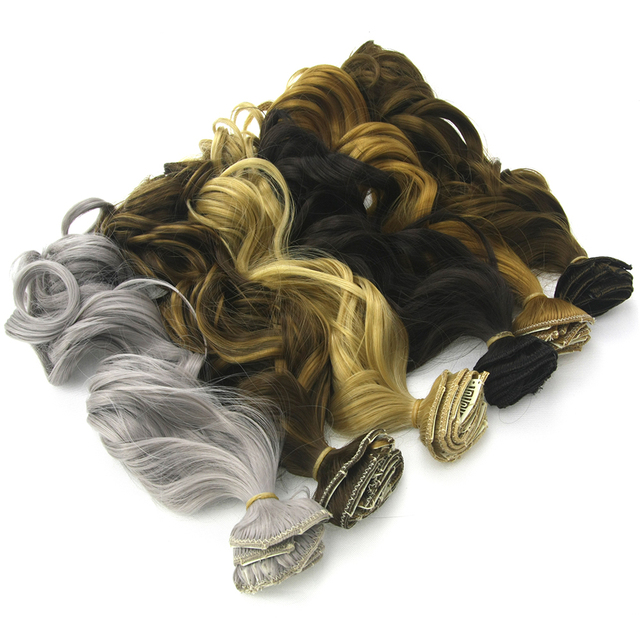 Soowee 7pcs/set Long Curly Black Gray Women Hair Synthetic Hair Clip In Hair Extension Full Head Hairpiece Cabelo 5