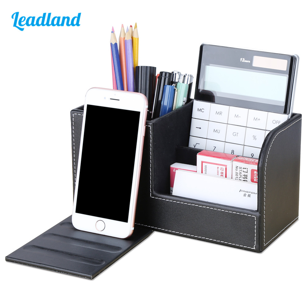 Name, With, Cellphone, Multi-functional, Holder, Desk