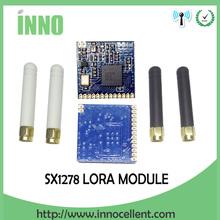 2 unids RF módulo LoRa SX1278 chip PM1280 Receptor y Transmisor de Larga Distancia de comunicación SPI LORA IOT + 2 unids 433 MHz antena(China (Mainland))
