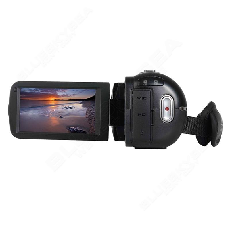 """ORDRO HDV-Z Microphone Camcorder 3.0"""" Touch Screen LCD 24MP 16X Zoom Digital Video Camera 1080P Full HD Wifi Remote Control 22"""