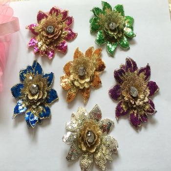 ... Handmade DIY 3D Rhinestones Terang Sedikit Bunga Jahit Pada Kain Bordir  Patch Untuk Pakaian Gaun Pengantin Aksesorisus  5.45 piece ... a97e10a230
