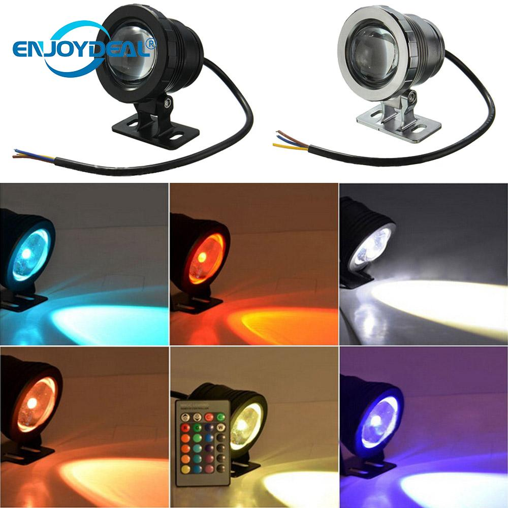 Buy Cheap 5w 10w Landscape Lamp Rgb Led Light Waterproof Fountainpool Landscape Lamp W/controller Ac85-265v/dc12v Silver Led Underwater Lights Led Lamps Black Orders Are Welcome.