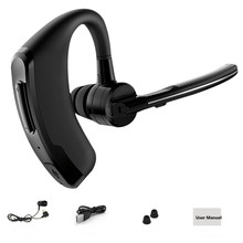Handsfree business bluetooth headset with mic voice control wireless bluetooth headphone for sports noise cancelling earphone