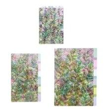 A5 A6 A7 рисунками из мультфильмов прозрачный разделитель индекс страниц доска для сортировки по цвету для детей возрастом от 6 отверстия связующего указатель