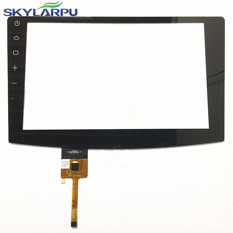 skylarpu 10.1 inch C156275A1-CL303T Capacitive touch screen for C129249A1-DRFPC304T-V1.0 Car DVD Touch screen digitizer glass 9 inch display p nair momo9 interstellar version touch screen capacitive screen 300 n3860b a00
