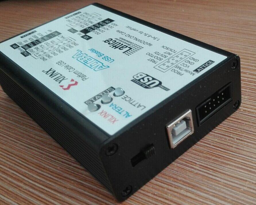 XILINX ALTERA решетки 3IN1 скачать линия USB2.0 высокая скорость