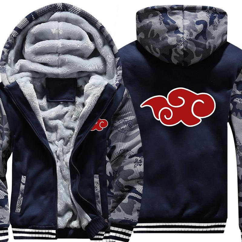 New Fashion Cool Sweatshirt Hoodies Men Women Printed Anime Naruto Hoodie Cosplay Streetwear Hip Hop Tracksuit Zipper Hoody
