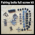 Fairing bolts full screw kits For YAMAHA YZF1000R Thunderace YZF 1000R 1000 R YZF1000 R 2000 2001 2002 2003 Nuts bolt screws kit