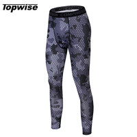 2017 Mens Base Layers Sports Compression Pants Running Athletic Basketball Gym Pants Bodybuilding Skin Tights Sports