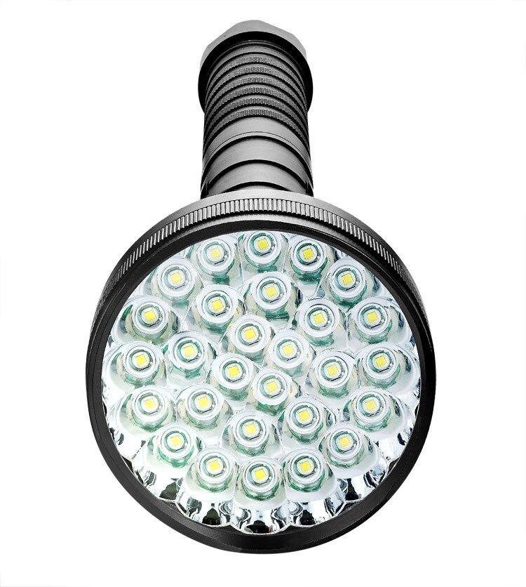 Tinhofire супер яркий 45000LM 18/21/24/28 х CREE XMLT6 светодио дный фонарик факел Тактический свет 4x18650/26650 Батарея