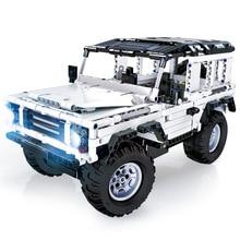 Technic Series 553 PCS Defender RC Car Model SUV DIY Building Block Car Brick Toys For Children Compatible with Legoed