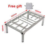 BGA jig Braket 500x300x160mm PCB Support Holder For Soldering PCB Mainboard With Free Antiskid Antistatic Gloves