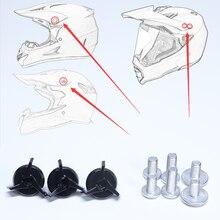 Специальный винт для внедорожного шлема для крепления солнцезащитного козырька