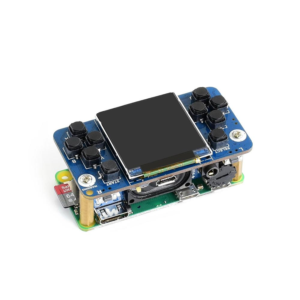 Waveshare 1.54inch Screen Tiny GamePi15 Designed 240×240 Resolution For Raspberry Pi, Good Match For The Zero WS0022