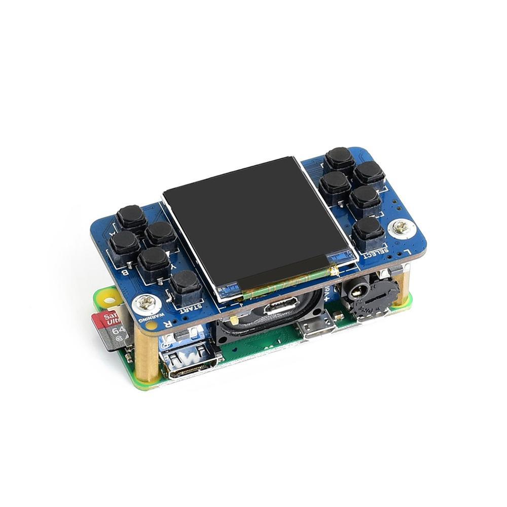 Waveshare 1.54inch Screen Tiny GamePi15 Designed 240×240 Resolution For Raspberry Pi, Good Match For The Zero WS0022