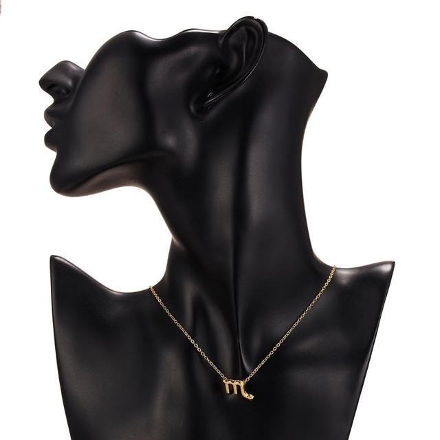 Horoscope sign necklace 6