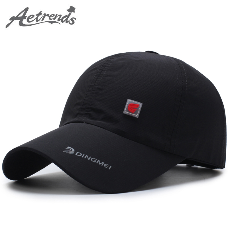 [AETRENDS] Summer hat mesh   cap     baseball     caps   for men   baseball   hats fashion mens accessories 2018 brand hat with logo Z-5118