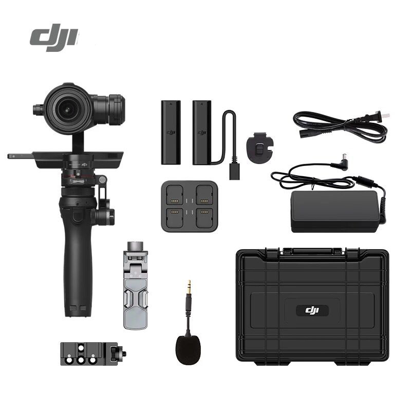 IN Stock !DJI Osmo RAW Combo Gimbal with Zenmuse X5R Camera 4K video M4/3 Sensor DHL EMS Free