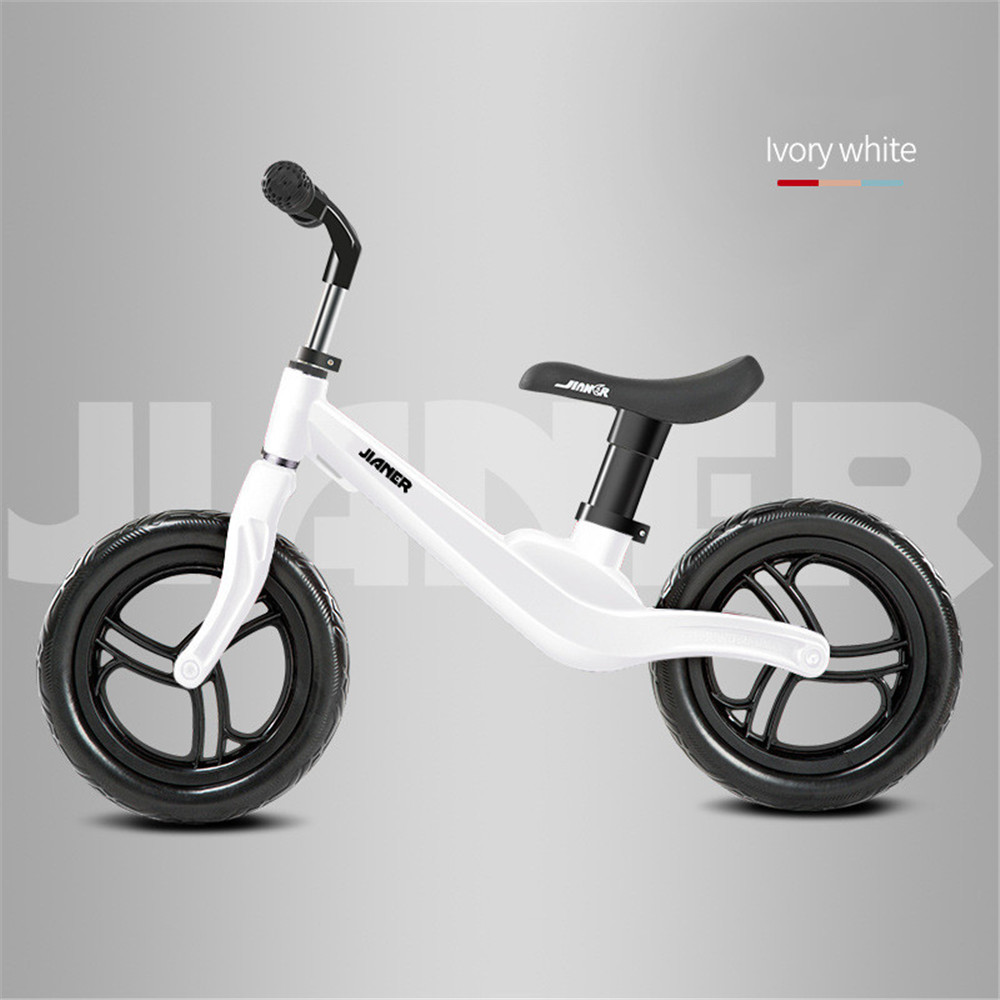 """12"""" Push Balance Bike Ultralight Kids Riding Bicycle for 1- 4 Years Baby Walker Scooter No-Pedal Learn To Ride Pre Bike EVA Tire"""