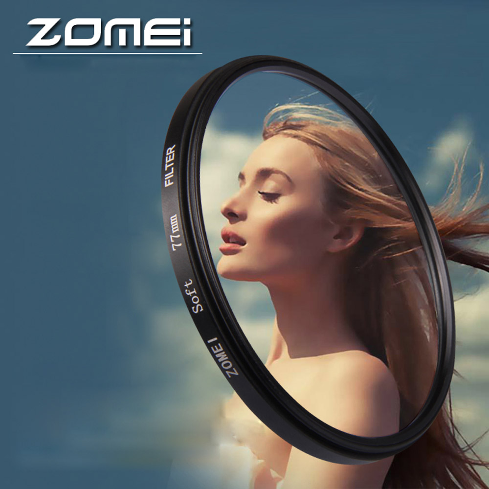 ZOMEi Portrait Filter Soft Diffuser Effect Focus Filter Lens For Nikon Canon Sony Camera Lens стоимость