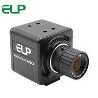 ELP Aptina 5MP MI5100 alta resolução 6 MM montagem CS Lente de foco Manual Portátil Mini USB Webcam Camera para PC computador|aptina mi5100|mini usb camera|manual focus cameras -