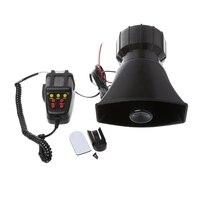 2017 Car Accessories 100W 12V Car Truck Alarm Police Fire Loud Speaker PA Siren Horn MIC