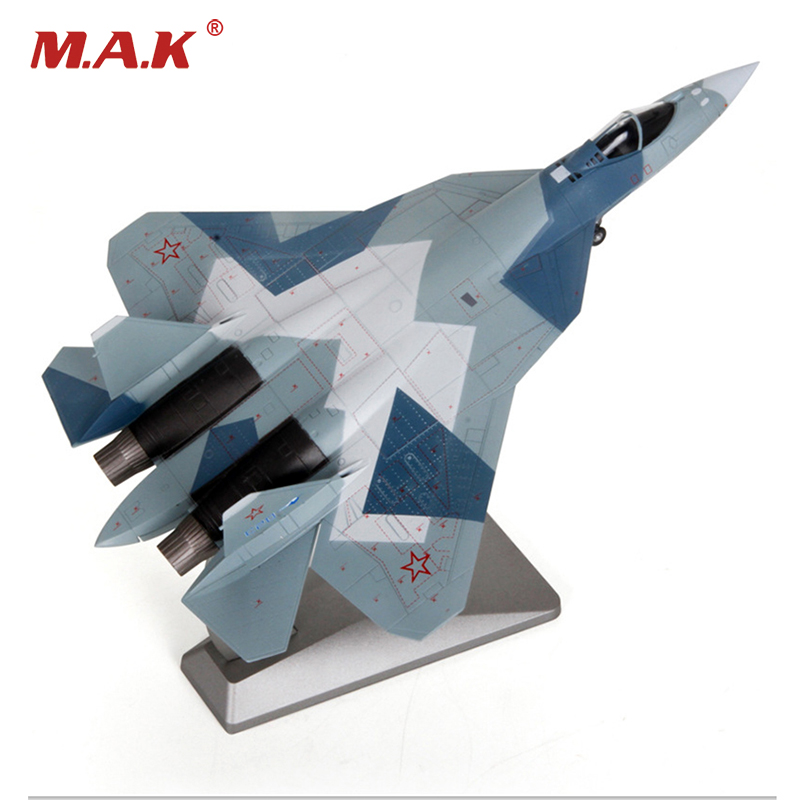 For Collection 1/72 Fans Airplane Toys Russian Heavy Fighter Su57 Static Military Ornaments Aircraft Su-57 Air Force Model Kids image