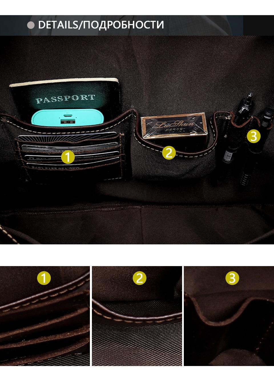 6 men's shoulder bag