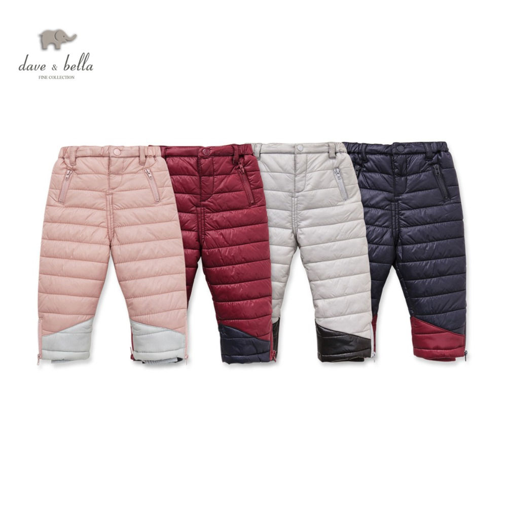 DB2364 dave bella winter baby boys pants baby girls padded trousers kids pants kids trousers children pants db5612 dave bella winter baby boys full length kids fashion plaid pants children trousers