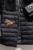 A Nova Europa de Comércio exterior Inverno 2016 Mink Cashmere Splicing Manga Longa Padrões de Bordado Com Capuz de Abelhas