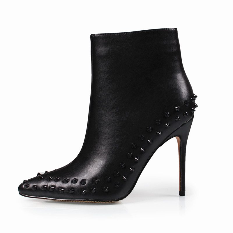 Online Buy Wholesale black ankle boots from China black ankle ...