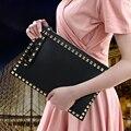 New Arrival Women Clutches Bags louis Luxury Design Lady Handbags michael Bags Rivet Big Envelope Bag cc Bags sac bolsas canta