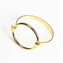 Europe and the United States exaggerate smooth circle bangle bracelet lady fashion bracelets