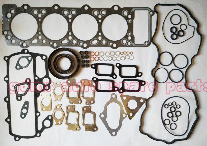 Full rebuilding kits 4M40 4M40T gasket set ME996729 for Mitsubishi Pajero GLS GLX Montero GLS GLX