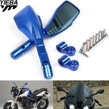 купить 8MM 10MM Screws Universal Motorcycle Rearview Mirrors Side Rear View Mirror For KAWASAKI YAMAHA MT07 SUZUKI KTM BMW HONDA DUCATI по цене 3378.34 рублей