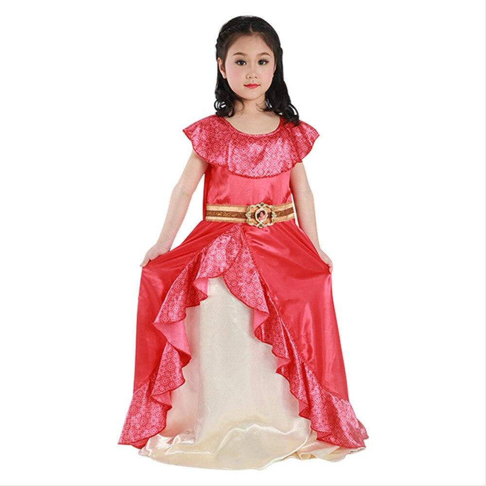Elena de avalor cosplay princesa elena vestido para meninas crianças criança role playing princesa roupas trajes