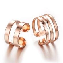 Посеребренные Модные кольца для влюбленных ювелирные изделия