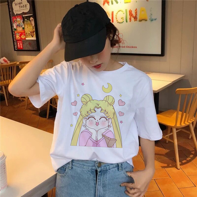 Sailor Moon T Shirt Kawaii...