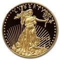 2012 águila de la libertad 1 Troya Oz. Chapado en monedas 1,5 gramos. 999 oro fino
