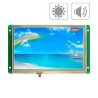 DMT80480T070_09W DMT80480T070_09WN 7 inch industrial serial port wide temperature highlight industrial touch screen LCD