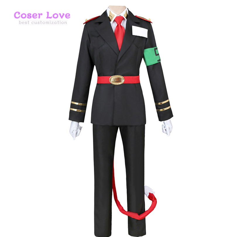 Detentionhouse Nanbaka Cosplay Carnaval Costume Halloween Christmas Costume