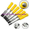 Free Shipping 6pcs/set Carpentry Hand Carving Steel Tool Chisels