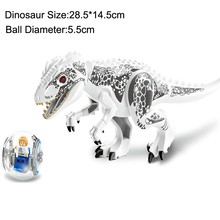 2pcssets 79151 Jurassic Dinosaur World Figures Tyrannosaurs Rex Building Blocks Compatible Legoings