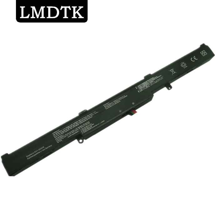 LMDTK חדש 4 CELLS Laptop Laptop עבור Asus A41-X550E R752LB R752M R752M R752L R751J P750L P750L F751LX F751L X751MA K751L
