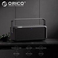 ORICO Портативный ручной Wireless4.2 Bluetooth Динамик музыка Окружают Открытый Водонепроницаемый Поддержка карты памяти AUX NFC для MP3 плеер