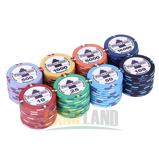 Ceramic poker chips price cercle de poker clermont ferrand