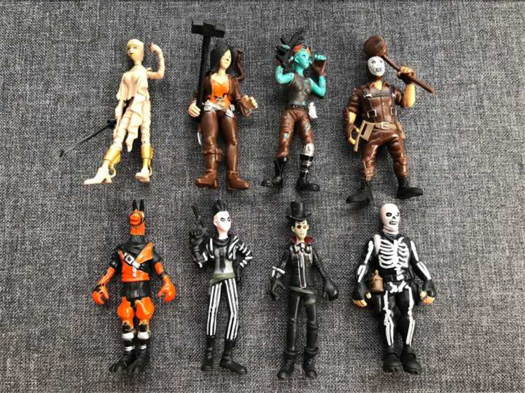 8pcs/set Popular Figure Toy 11.5cm Popular game Character PVC Action Figures Toy For children Gift