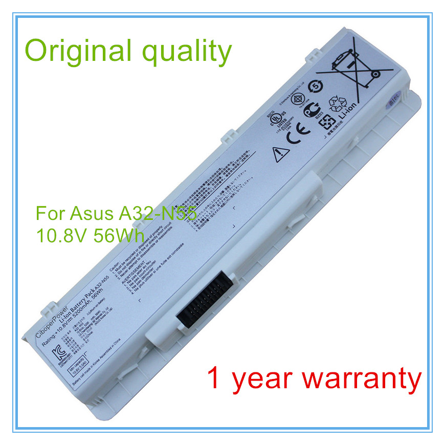 Original New Battery for A32-N55 N45 N45SF N55E N75S N45E N45SJ N55S N75SF N45F N45SL N55SF N75SJ N75SV цена